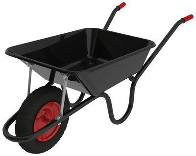 Chillington Camden Builder S Black 85l Wheelbarrow