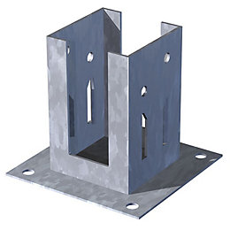 Metpost Steel Post Support (W)90mm (D)90mm