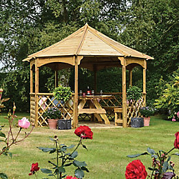 Rowlinson Buckingham Natural Gazebo