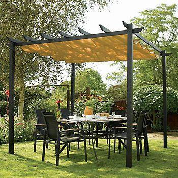 Rowlinson Latina Metal Free Standing Canopy