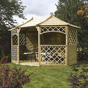 Rowlinson Sandringham Wooden Gazebo