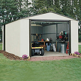 12X17 Murryhill Metal Garage with Assembly Service