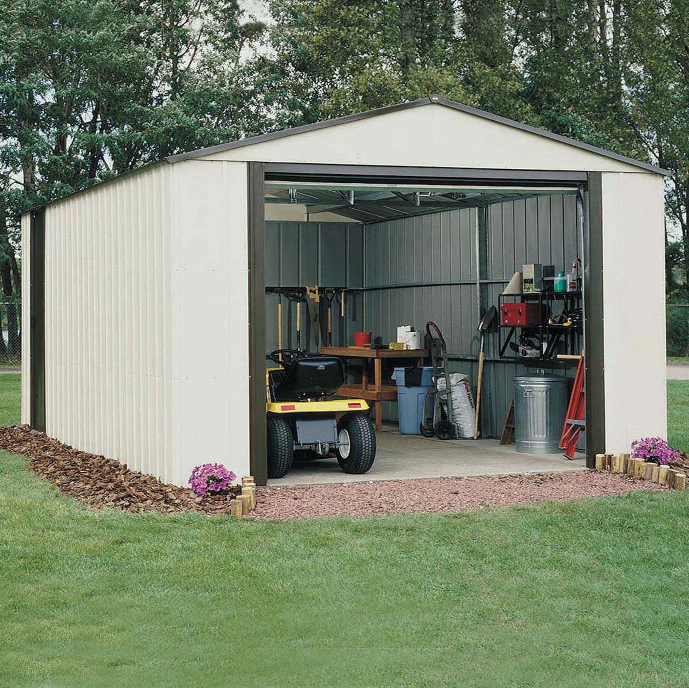 Murryhill 12X31 Metal Garage - with Assembly Service