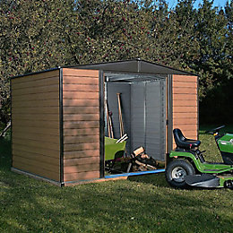 10X6 Woodvale Apex Metal Shed with Assembly Service