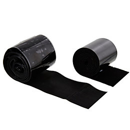 Griptite Black Stick On Tape (L)1m