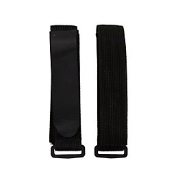 Griptite Black Adjustable Stretch Strap (L)680mm, Pack of