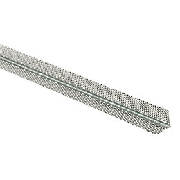 Galvanised Steel Angle Bead (L)2400mm (W)25mm