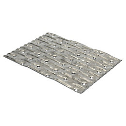 Expamet Galvanised Steel Jointing Plate, Pack of 10