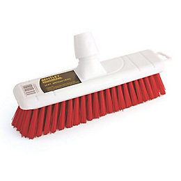 Bentley Red Stiff Broom Head (W)30cm