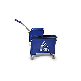 Bentley Professional Blue Mop Bucket Trolley & Wringer