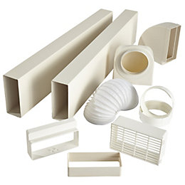 Smeg White Duct Kit