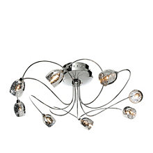 Aero Chrome Effect Ceiling Light