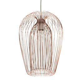 Jonas Copper Wire Light Shade (D)22cm