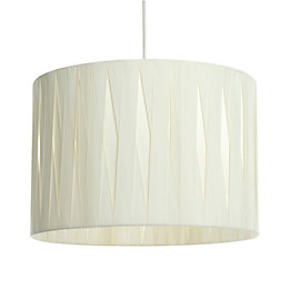 Acasia Ivory Ribbon Light Shade (D)41cm
