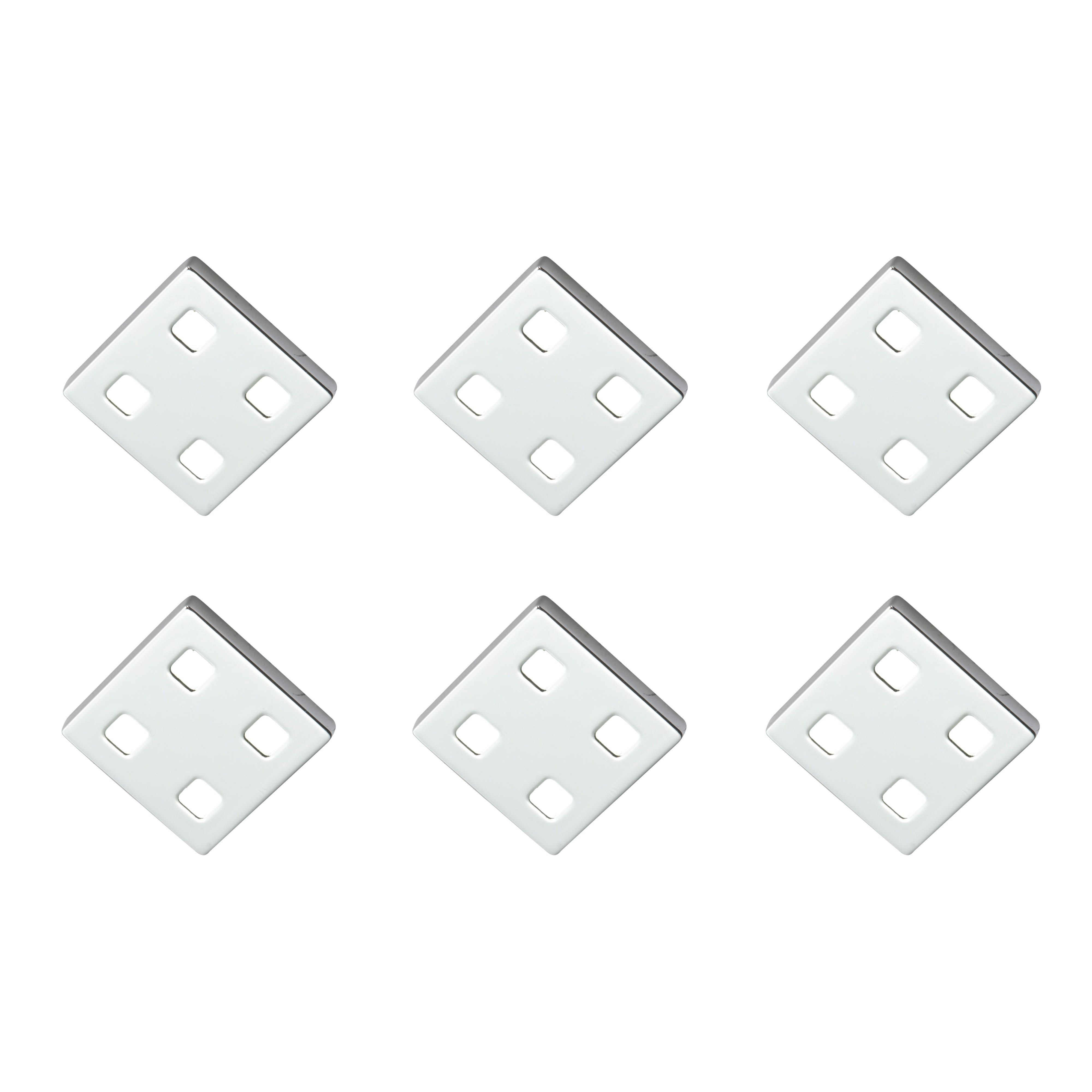 Masterlite Mains Powered Led Cabinet Light, Pack Of 6