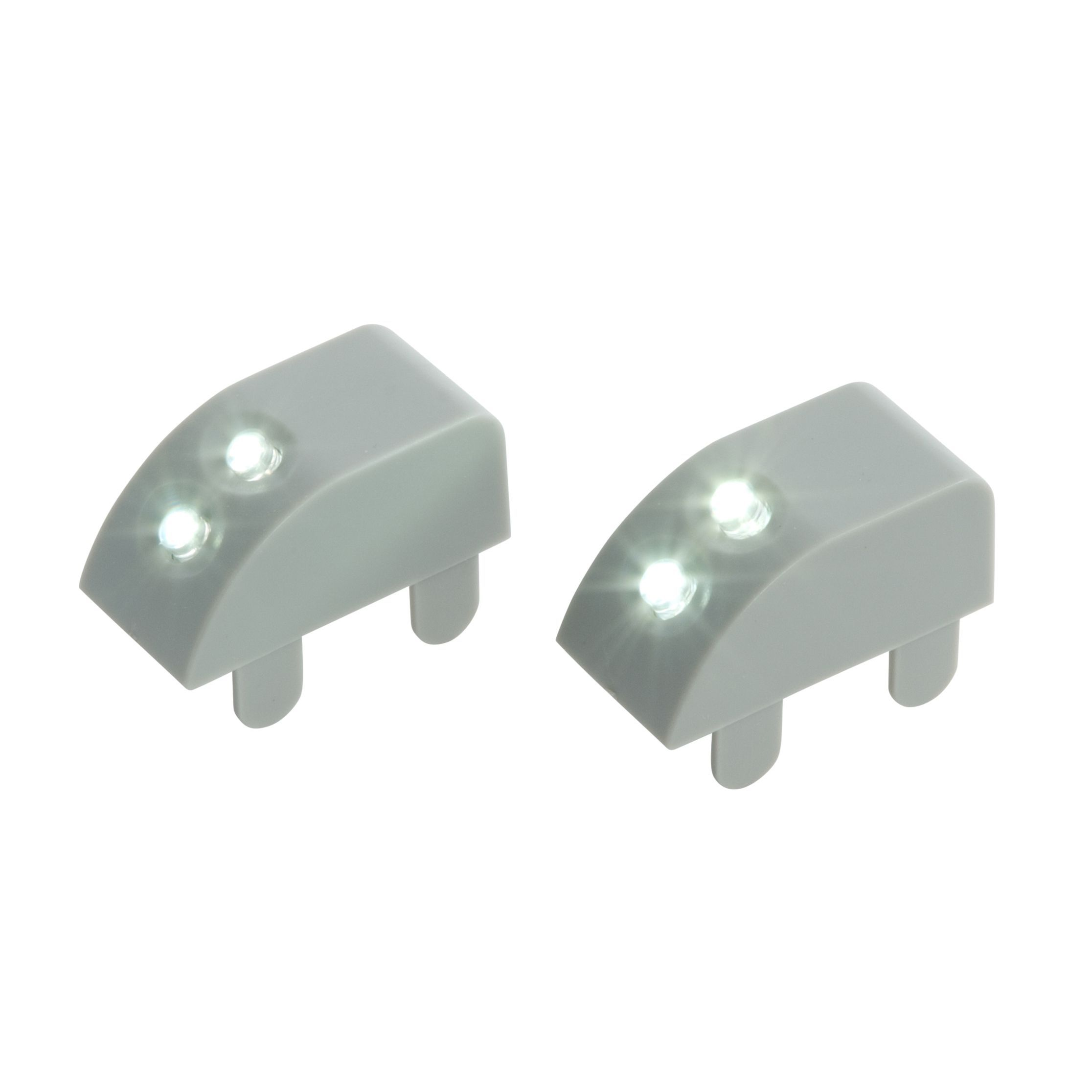 Masterlite Battery Powered Led Cabinet Light (l)40mm, Pack Of 2