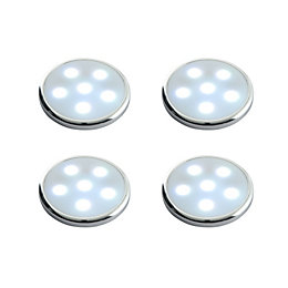 Masterlite LED 1.44W Cabinet Light, Pack of 4