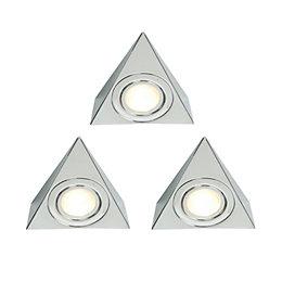 Masterlite Halogen 16W Cabinet Light (L)128mm, Pack of