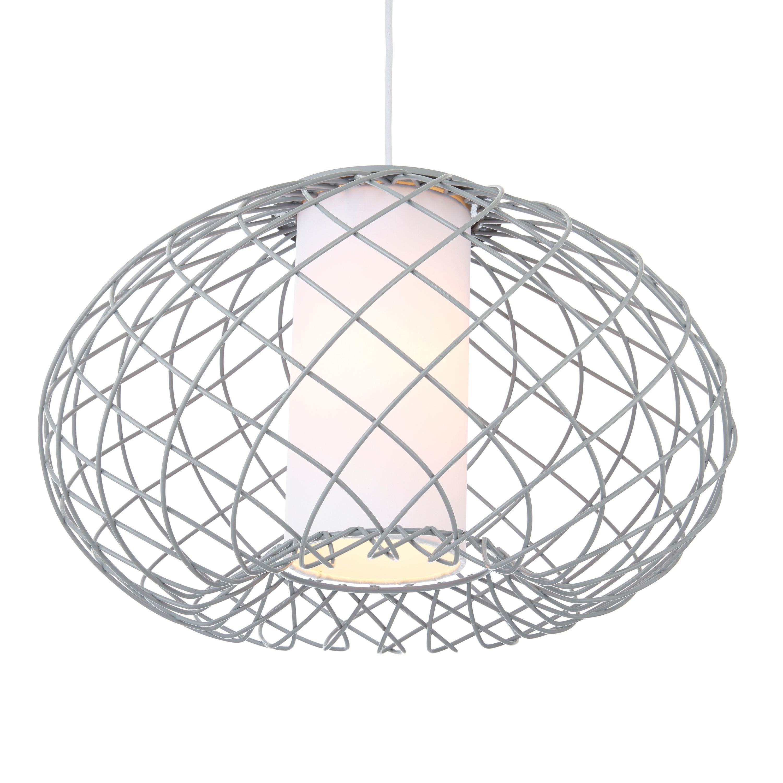 Marceau Wire Grey Pendant Ceiling Light