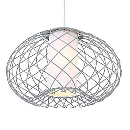 Marceau Wire Grey Pendant Ceiling Light