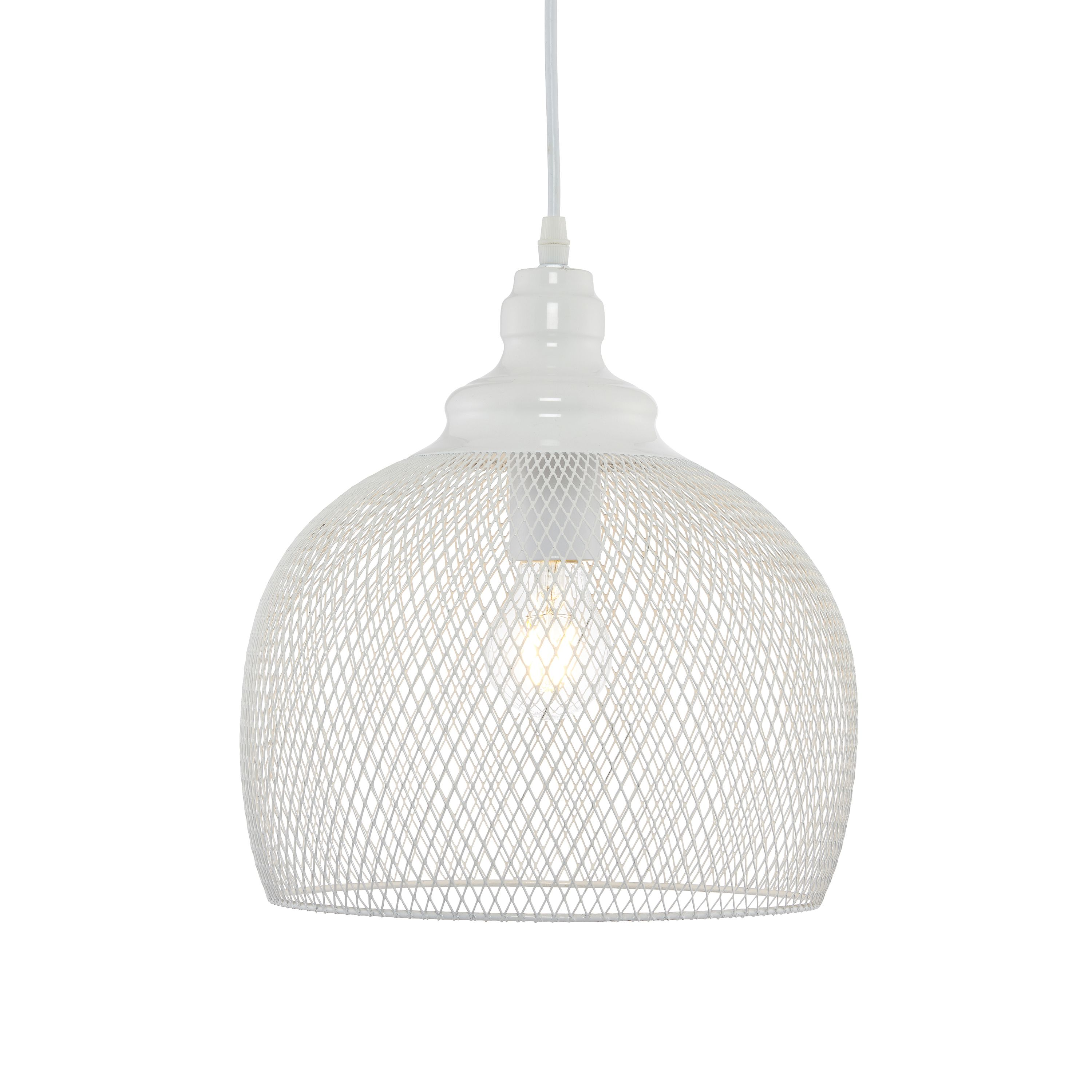 Solent Cage White Pendant Ceiling Light Departments  : 501483864699102c from www.diy.com size 3000 x 3000 jpeg 489kB