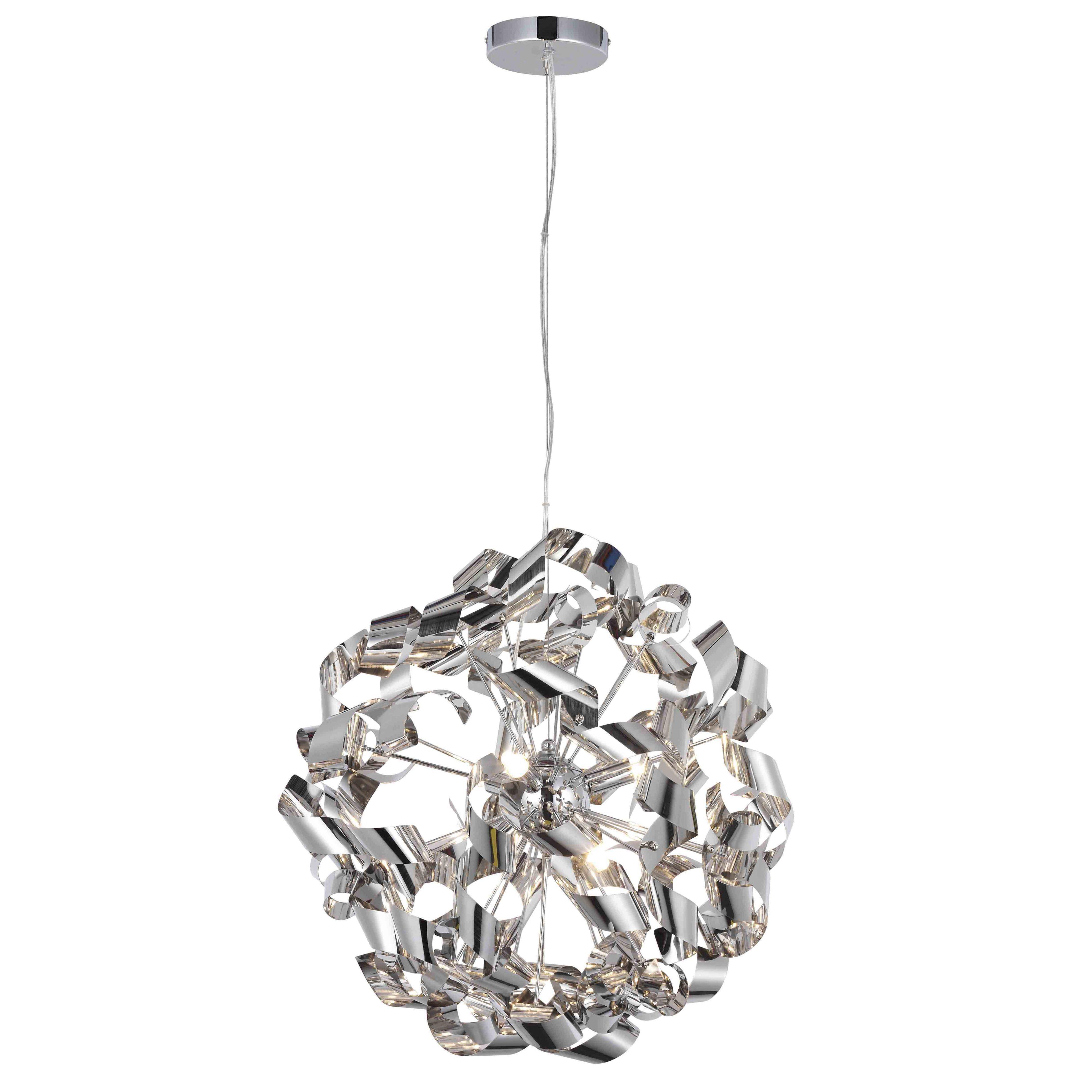 Diy at bq marcela modern brushed 6 lamp ceiling light arubaitofo Images