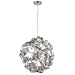 Marcela Modern Brushed 6 Lamp Ceiling Light