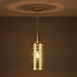 Jojo Gold Effect Pendant Ceiling Light