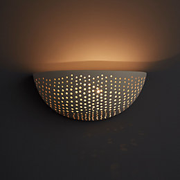 Ricci Cream Wall Light
