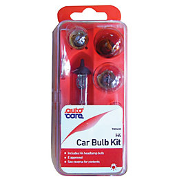 Autocare P43T 60W Halogen Car Spare Bulb Kit