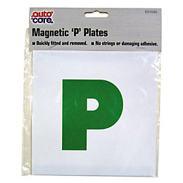 PVC Magnetic P Plate (H)178mm (W)178mm