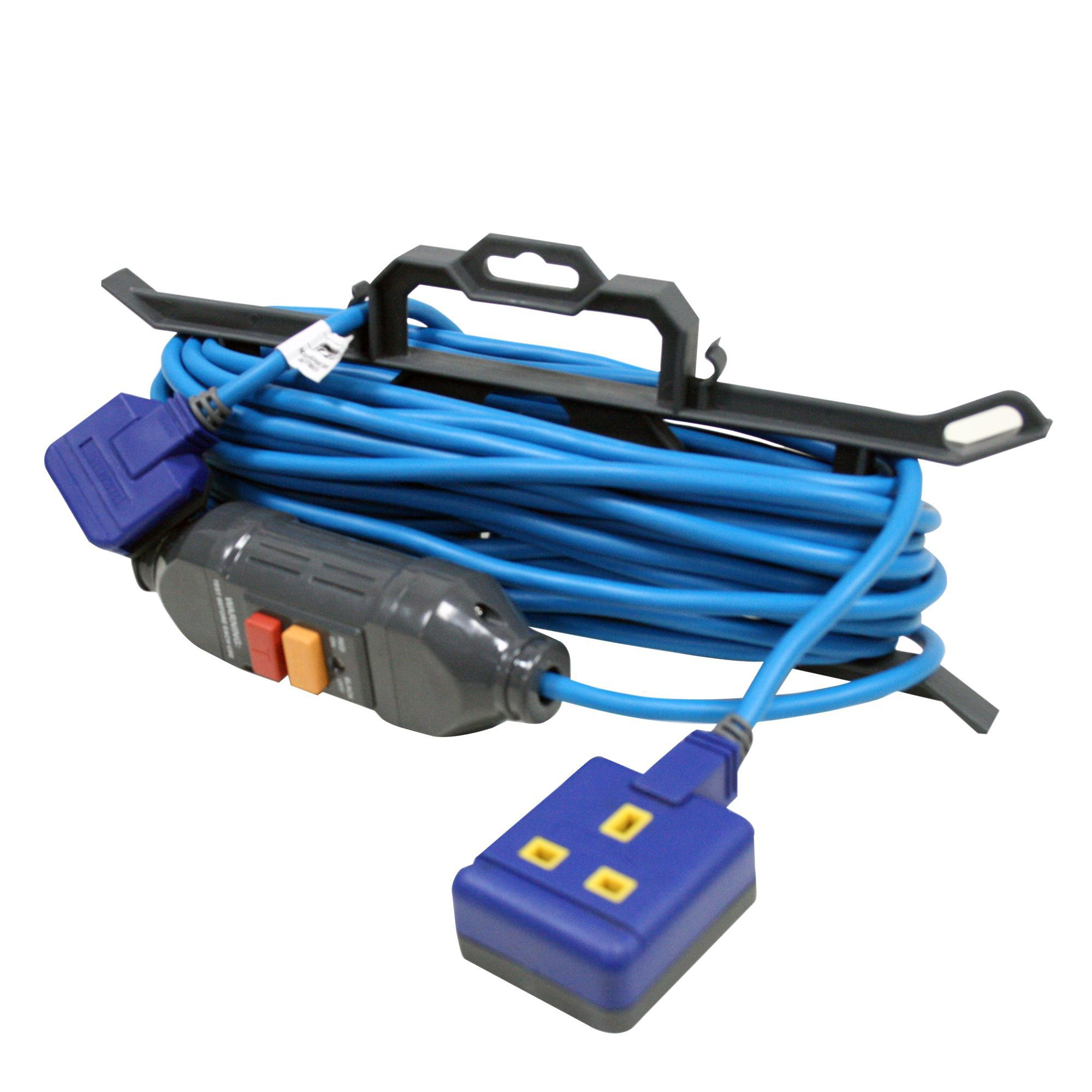 Masterplug 1 Socket 13 A External Extension Lead 15m Blue