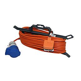 Masterplug 1 Socket 13 A External Extension Lead