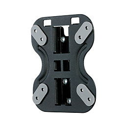 Ross Black Fixed TV Mounting Bracket 13-23""