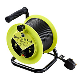 Masterplug 2 Socket 10A Cable Reel (L)20m