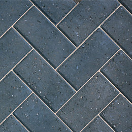 Charcoal Driveway Block Paving (L)200mm (W)100mm, Pack of