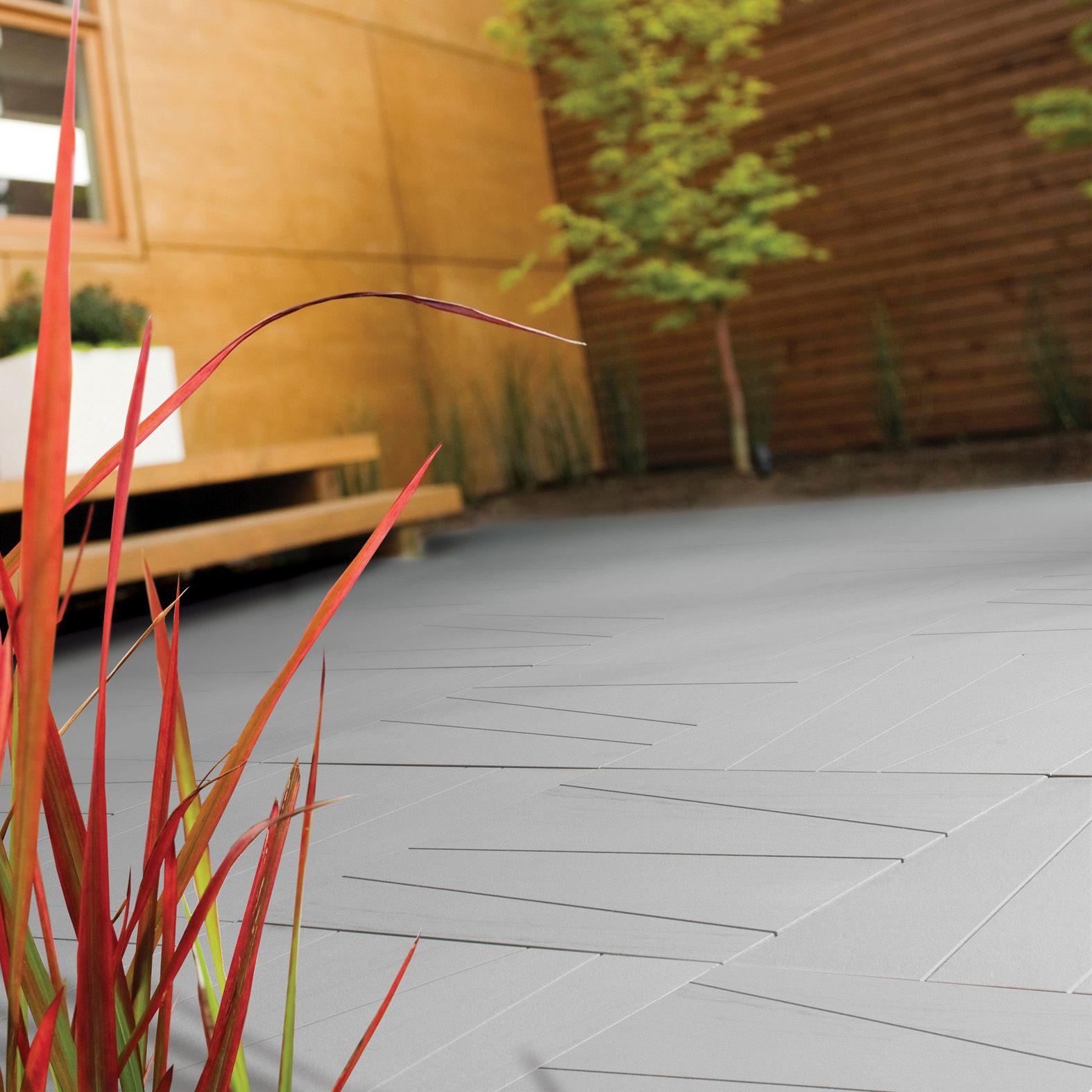 Ventura paving kit l 500mm w 500mm departments diy for Garden decking kits b q