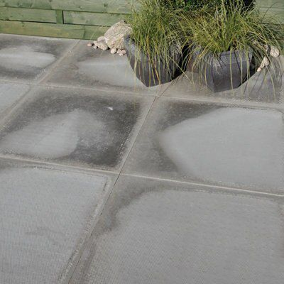 Grey Paving Slab (l)600 (w)600mm Pack Of 22, 7.92m²