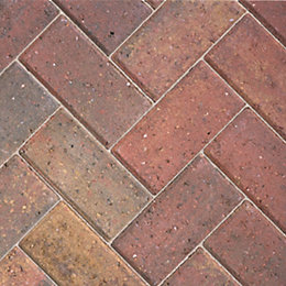 Autumn Europa Block Paving (L)200mm (W)100mm, Pack of