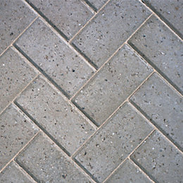 Grey Europa Block Paving (L)200mm (W)100mm, Pack of