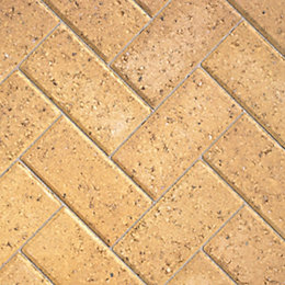 Buff Europa Block Paving (L)200mm (W)100mm, Pack of
