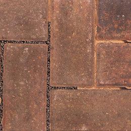 Autumn Infilta Block Paving (L)200mm (W)100mm, Pack of