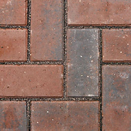Brindle Infilta Block Paving (L)200mm (W)100mm, Pack of