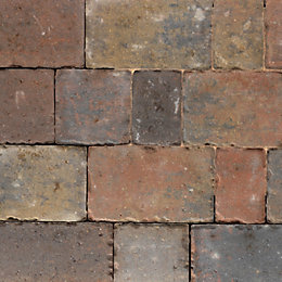 Royale Monksbridge Mixed Size Block Paving, Pack of