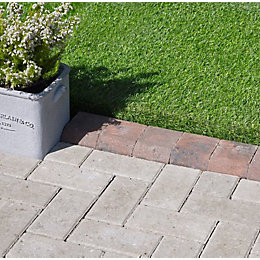 Block Kerb Brindle Red, (L)100mm (H)150mm (T)125mm Pack