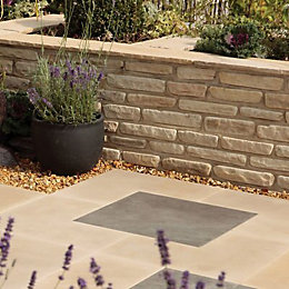 Sandstone Fossil Buff Mixed Size Walling Pack