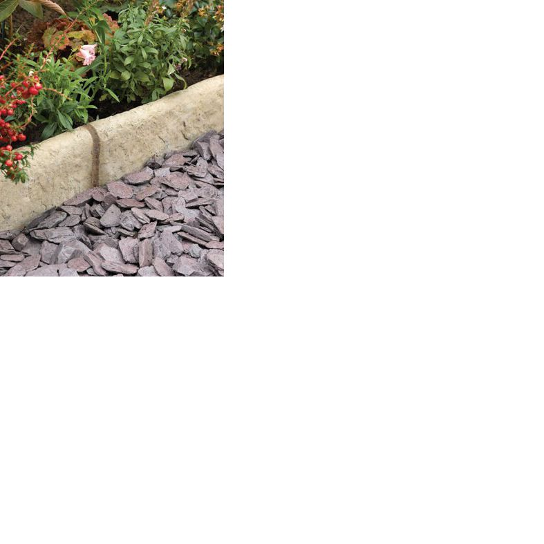 Old Town Paving Edging Green Grey, (l)450mm (h)200mm (t)50mm Pack Of 34