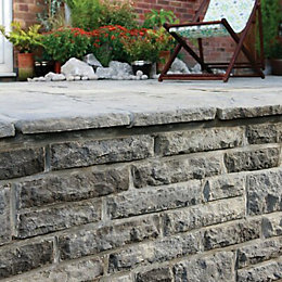 Ancestry Double Sided Coping Abbey Storm, (L)530mm (T)50mm