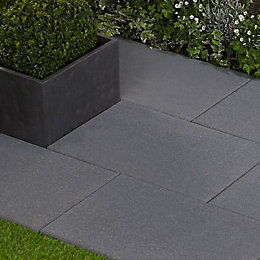Speckled Anthracite Lisse Paving Slab (L)600 (W)400mm Pack