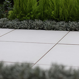 Platinum Lumio Porcelain Paving Slab (L)600 (W)600mm Pack